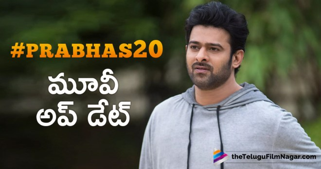 #Prabhas20 Movie Shoot Update,Telugu Filmnagar,Tollywood Cinema Latest News,Telugu film Updates,Latest Telugu Movies 2018, Prabhas 20th Movie Latest News,Prabhas 20th Film Shooting News,Hero Prabhas New Movie Shooting Schedule,#Prabhas20 Movie Shoot Begins,#Prabhas20,Prabhas 20th film Shooting Updates