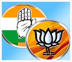 Congress-BJP-