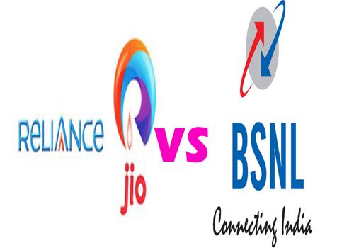 జియో(jio) vs బి ఎస్ ఎన్ ఎల్ (BSNL)