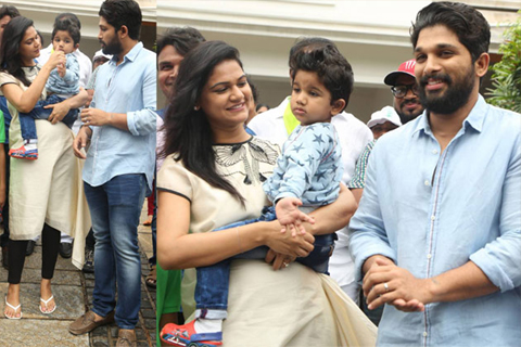 bunny join dj movie shooting after sneha reddy delivery
