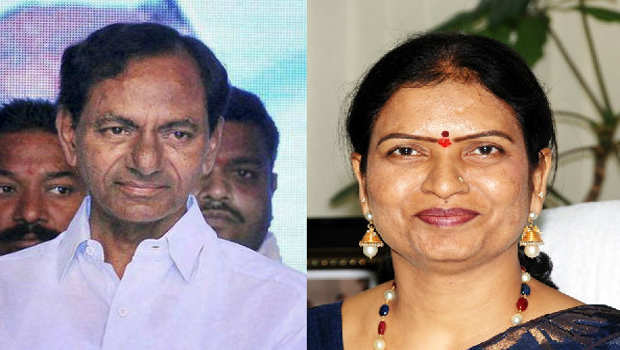 lady minister in trs party