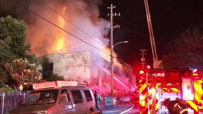 At Least 9 Dead, 13 Unaccounted For in Fire at Oakland Warehouse