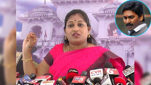 mla anitha fires on jagan about mogalturu incident