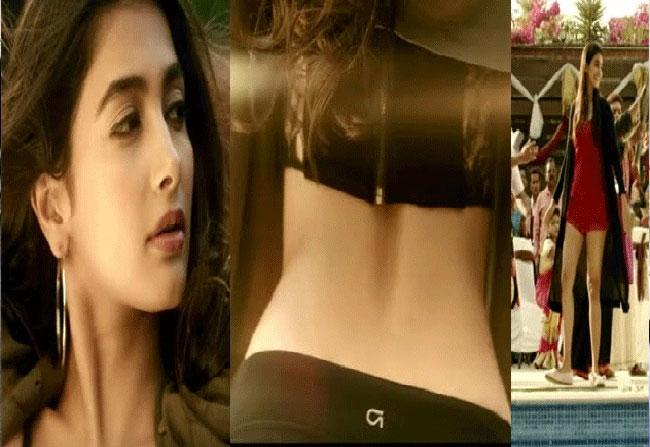 Allu Arjun DJ Movie Heroine Pooja Hegde In Bikini Pics