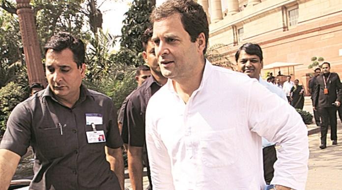 Rahul Gandhi Post Confirmation