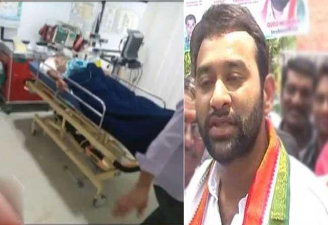 Vikram Gaud Shot In Hyderabad