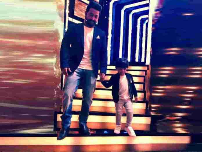 Jr NTR Happy Tweets For His Son Abhay Ram