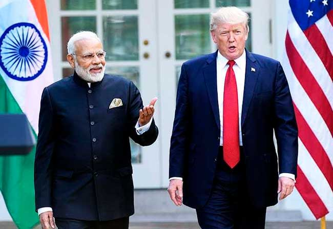 US President Donald Trump Willing Strong Relations With India