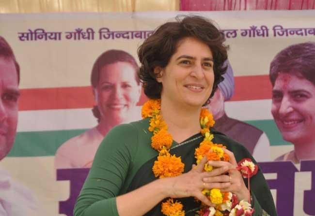 Priyanka Gandhi New Congress Working President