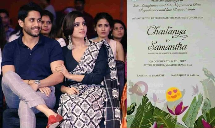 Pic Talk: Chai And Sam Marriage Wedding Card