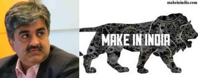 Pankaj Mahendra Controversial Comments on Made In India