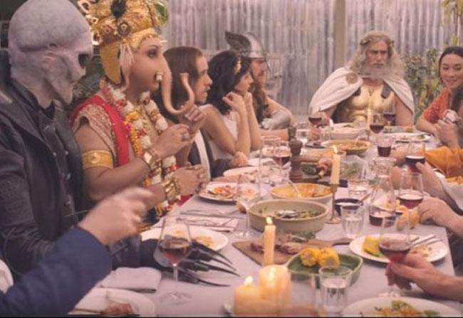Lamb Ad Implying Ganesha
