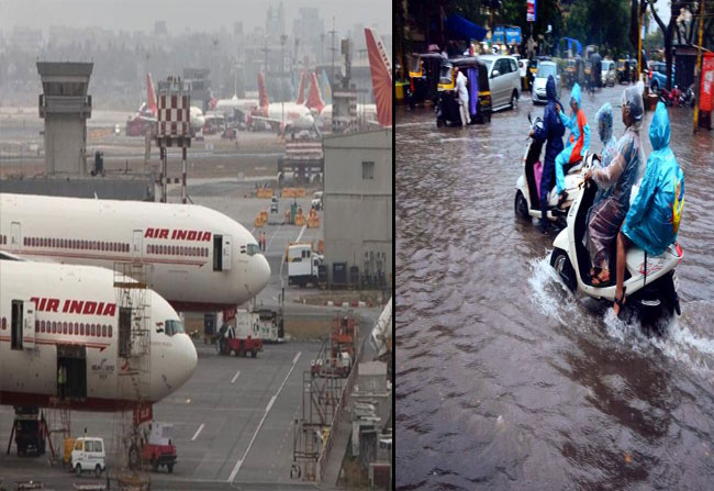 Mumbai Educational Institutions And Airports Closed