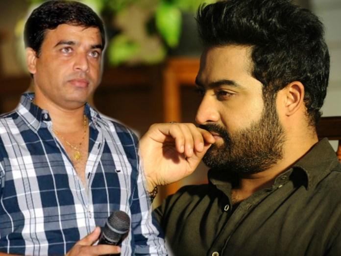 NTR not confirmed Srinivasa Kalyanam movie with Dil Raju