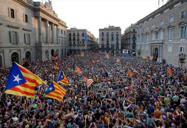 As Catalonia declares independence, Spain imposes direct rule!
