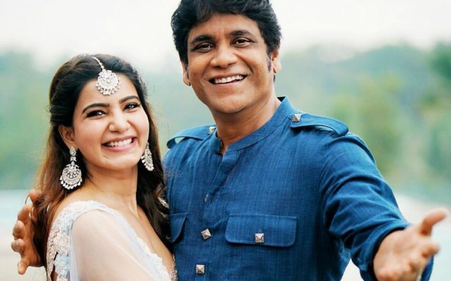 Nagarjuna With Samantha On Twitter