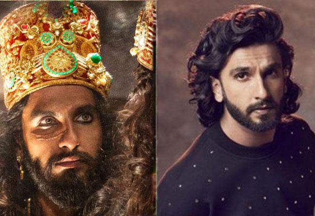 Ranveer Singh Tweets on Padmavathi Trailer