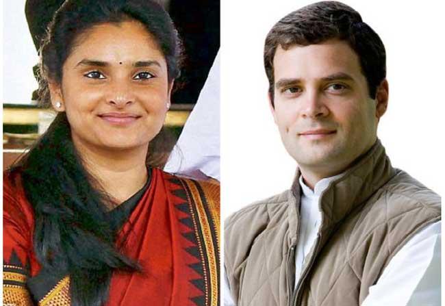 Is Heroine 'Ramya' behind Rahul Gandhi's 'success'?