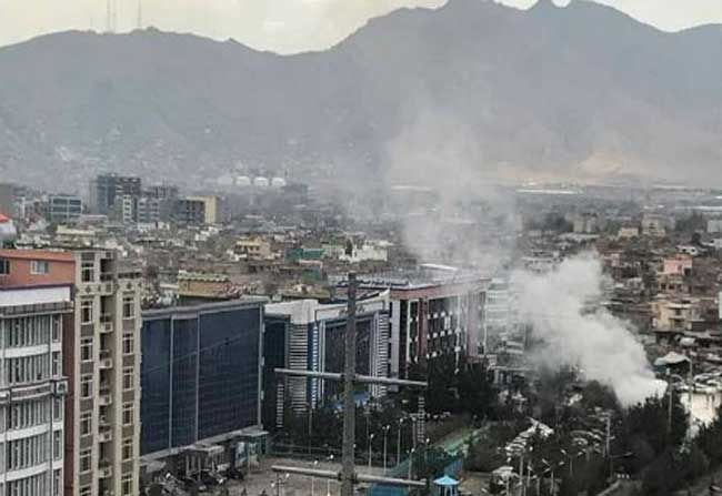 Two Killed, eight injured at Lab –e- Jar Square in Kabul Explosion