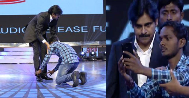 Fan's chilling Experience: An unpredictable Selfie with Powerstar!