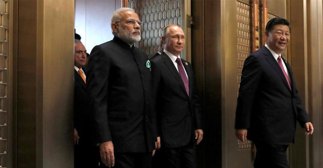 Foreign Ministers of India, Russia, and China to meet on terror!