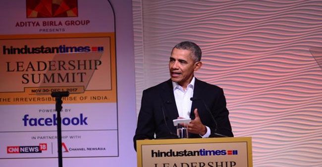 Former US President says India needs to cherish and nurture its Muslims