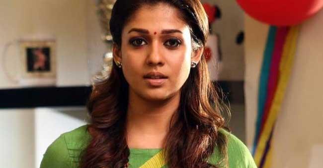 Is Nayantara out of SyeRaa?