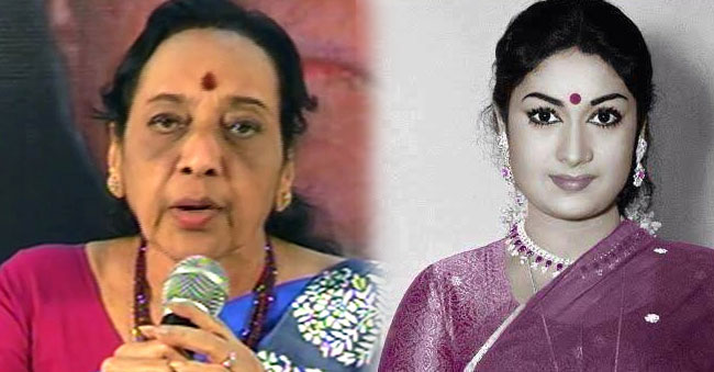 Yesteryear actress Jamuna reveals the last days of Savithri garu!
