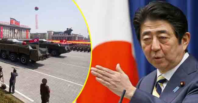 Japan Plans to Counter North Korea with long-range missiles