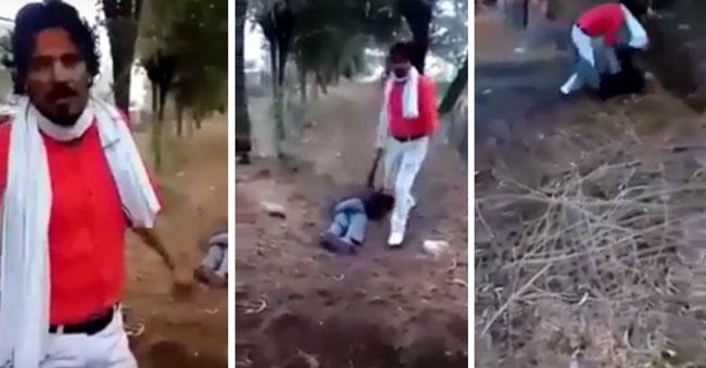 Man burnt alive in Rajasthan