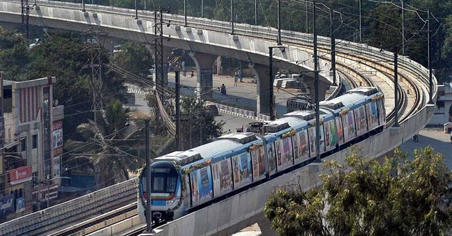 Metro Rail Covers 25 lakhs in 26 days