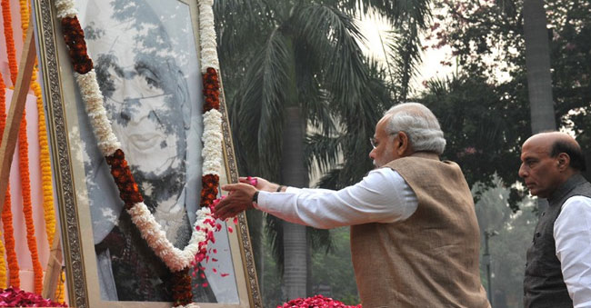 Rich Tributes Paid to Sardar Patel on his death anniversary by PM