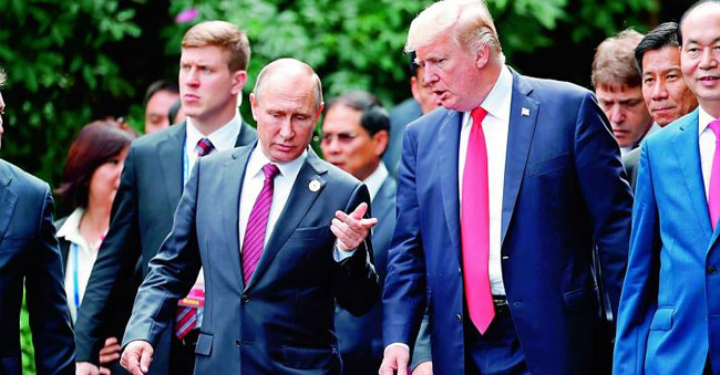 Russian President thanks, US counterpart, for CIA tip on terror attack!