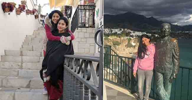 'Fidaa' Sai Pallavi and Her Sister Visit Spain!