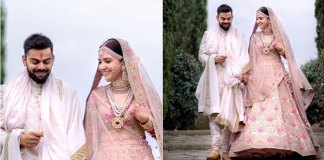 Anushka Sharma's Wedding Lehenga