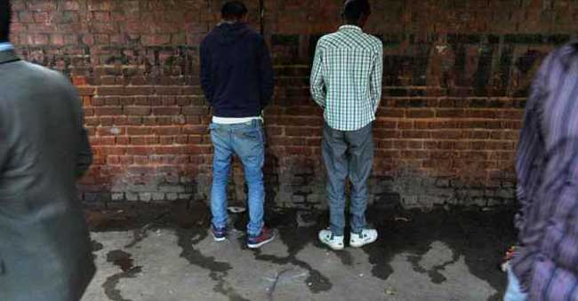 GHMC – In a novel way to stop people from urinating in the open