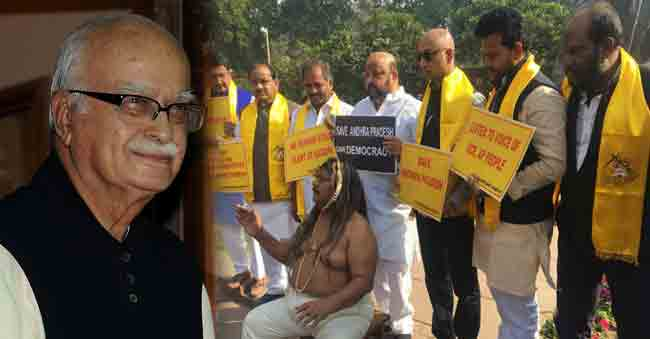 Advani's assurance to A.P TDP M.Ps in discussions:
