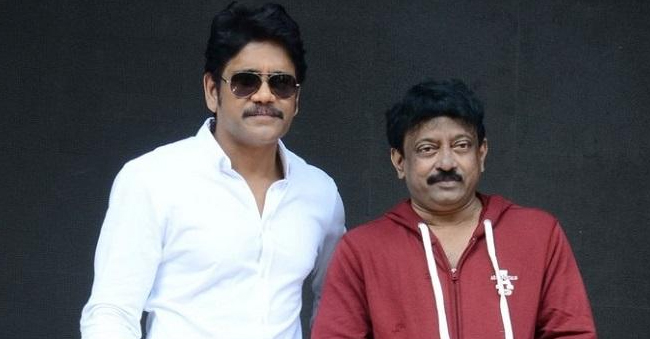 RGV – Nagarjuna Movie First Look And Title Revealed!