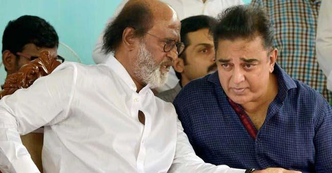 Kamal Hassan meets Rajinikanth– Rajinikanth to announce party name on Wednesday