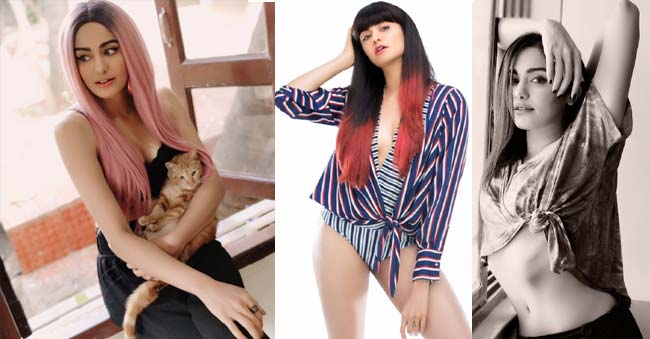 Sizzling Adah Sharma pink hair – A wild makeover or Valentine's Day Treat?