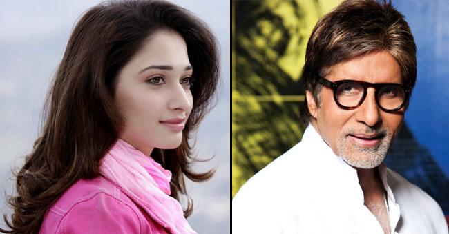 Tamannah Bhatia And Amitabh Bachchan In A Sci-Fi Film
