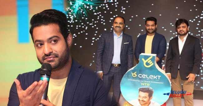 NTR takes Huge amount for celekt mobiles Brand Ambassador