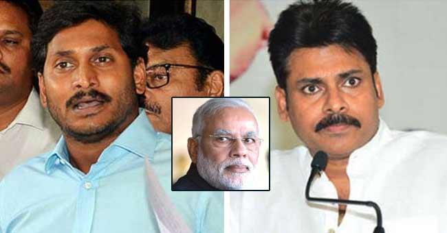 Why Jagan and Pawan cannot target BJP?