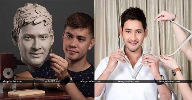 Mahesh Babu's Wax Statue Is On The Process…