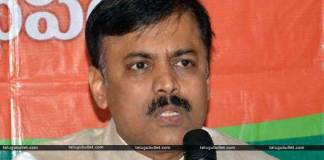 TDP MPs charged at BJP MP GVL in the Capital