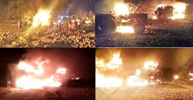 Kurnool Explosion Swallowed 12 People And 10 Houses