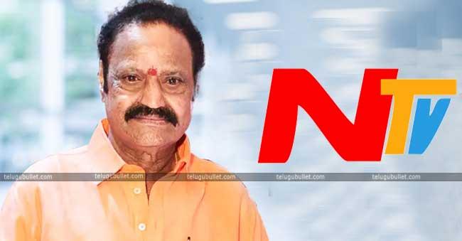 NTV Anniversary Celebrations Called Off On Harikrishna's Demise