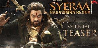 Sye Raa Narasimha Reddy Teaser Out