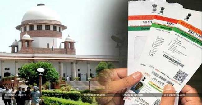 Aadhar Is Constitutionally Valid Says Supreme Court