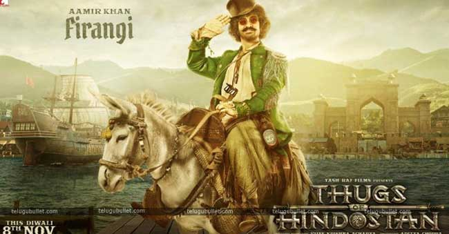 First Look : Aamir Khan's As The Firangi Thug